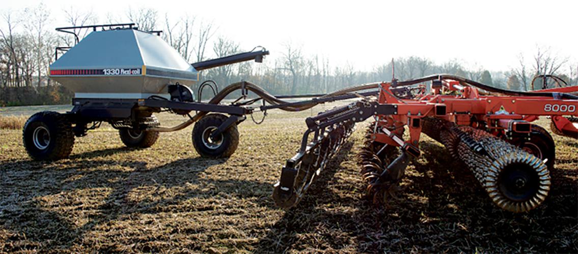 seeding cereal rye