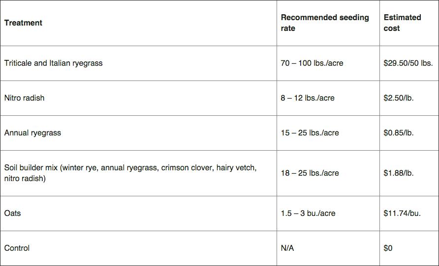 MSU cover crops