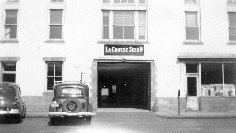 La Crosse Seed 1944 store front